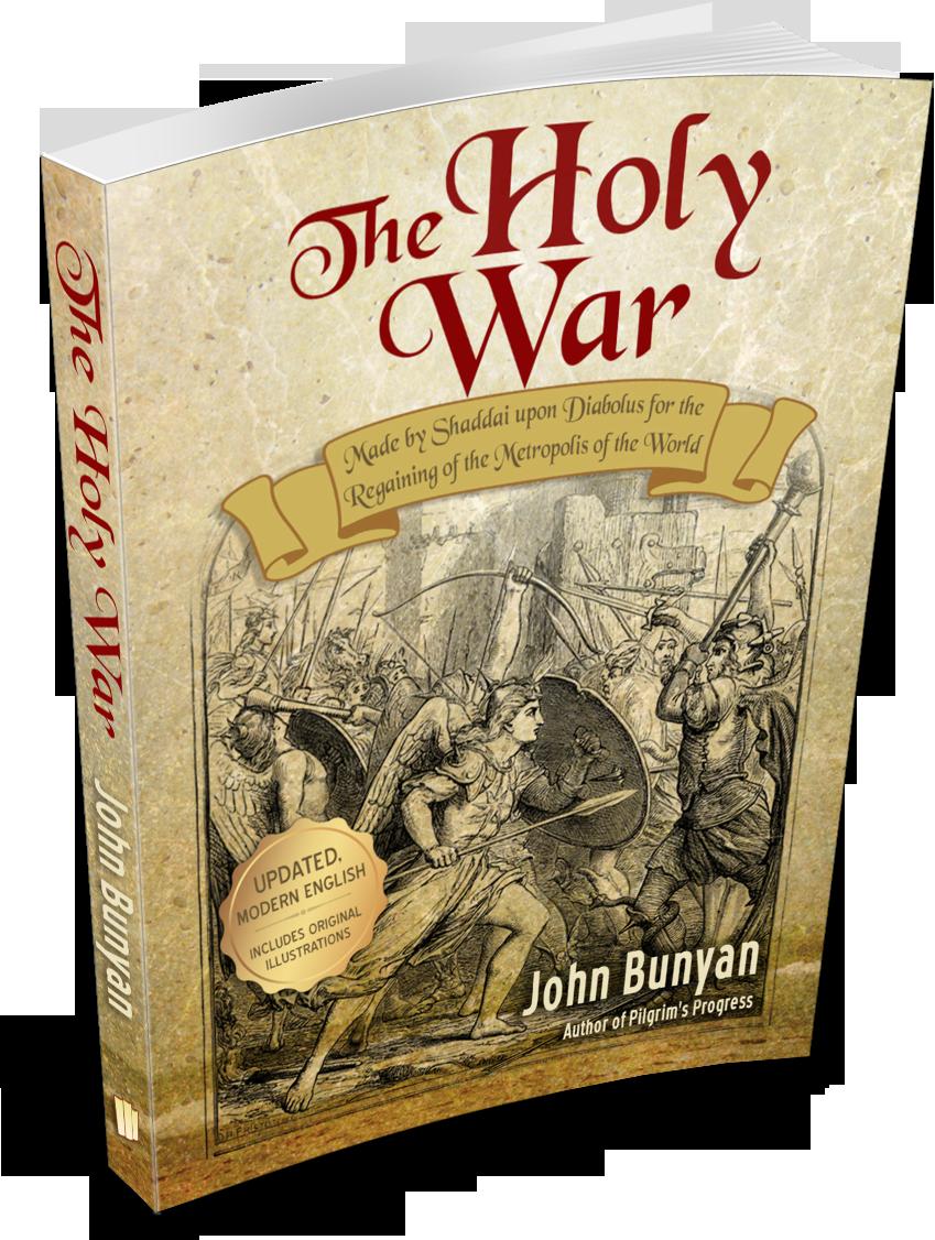 The Holy War (eBook)   Personal Spiritual Growth - Books