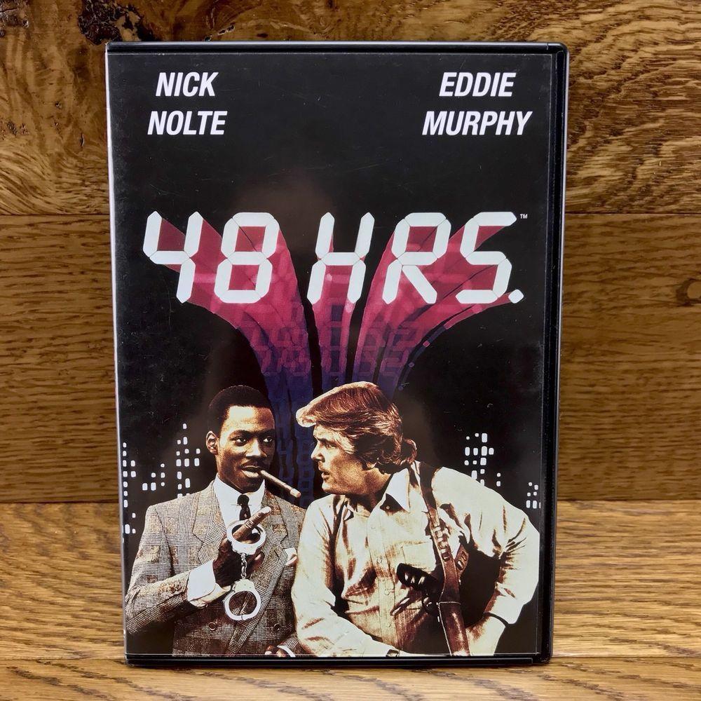 48 HRS DVD Film Movie Eddie Murphy Nick Nolte region 2