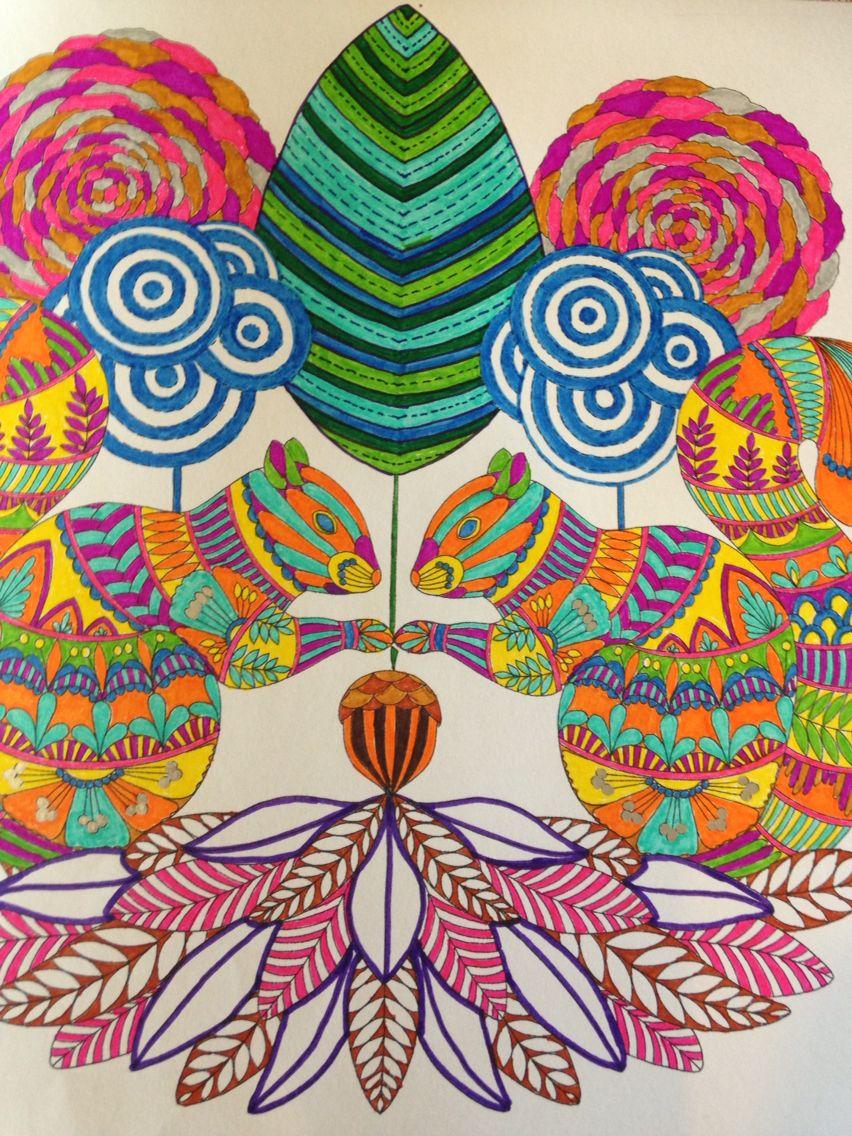 Color me draw me animal kingdom book - Millie Marotta Animal Kingdom