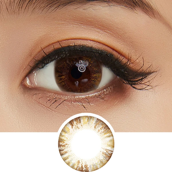 Eyecandys Pink Label Multi Tone Brown Cosmetic Contact Lenses Contact Lenses Colored Colored Contacts