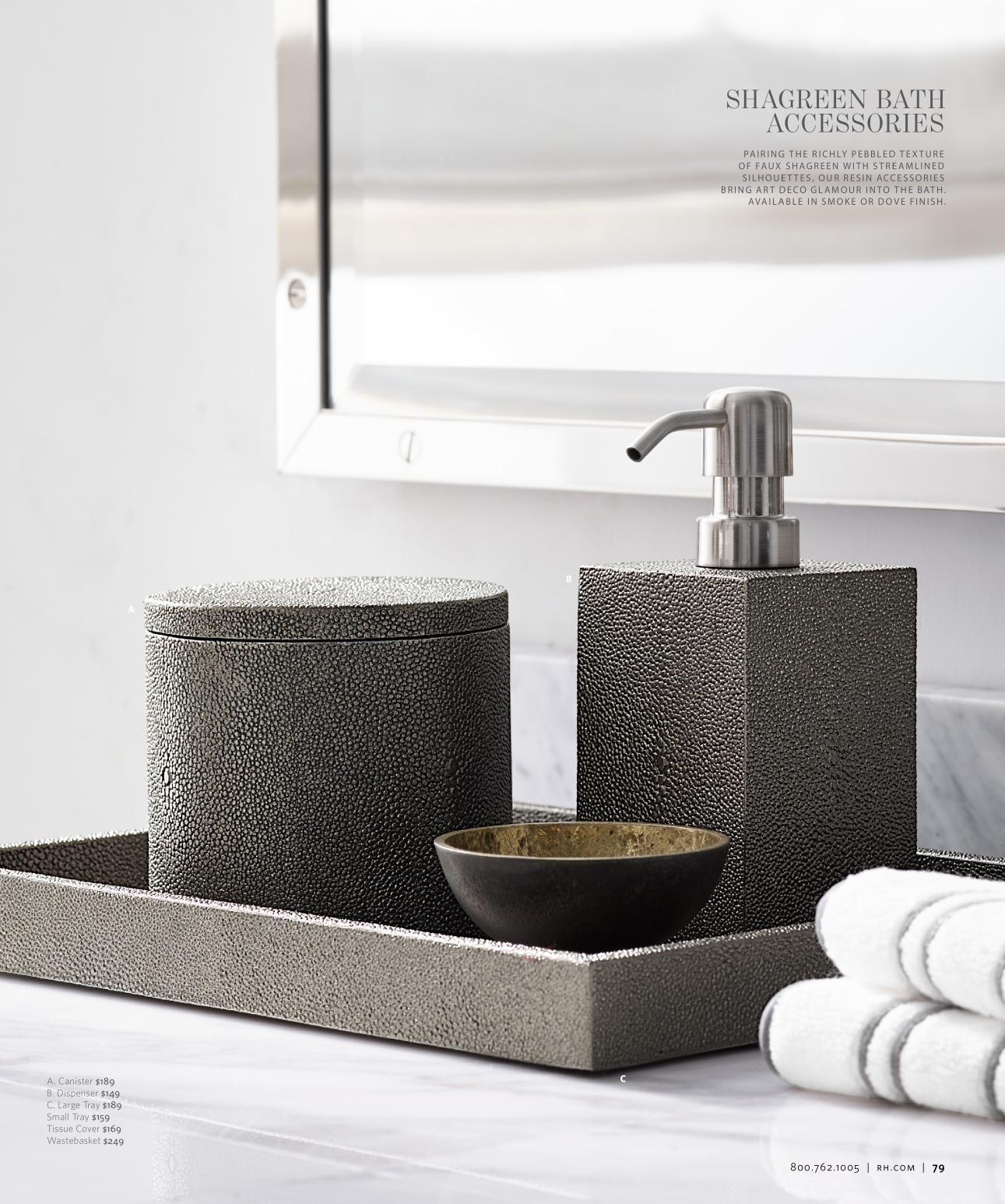 Rh Source Books Bathroom Accessories Luxury Bathroom Accessories Sets Bathroom Decor Luxury