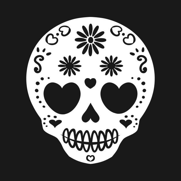 Check out this awesome 'Another+Sugar+Skull' design on @TeePublic!