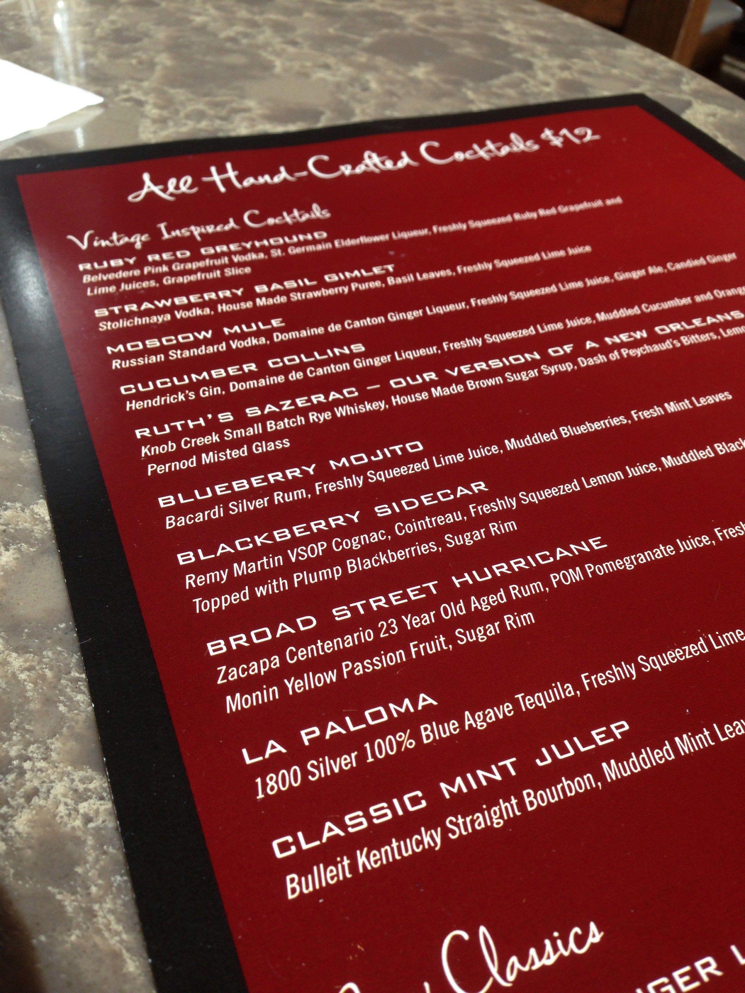 Happy Hour Ruth S Chris Steak House Wine Me Dine Me Ruths Chris Steakhouse Ruth Chris Make Brown Sugar