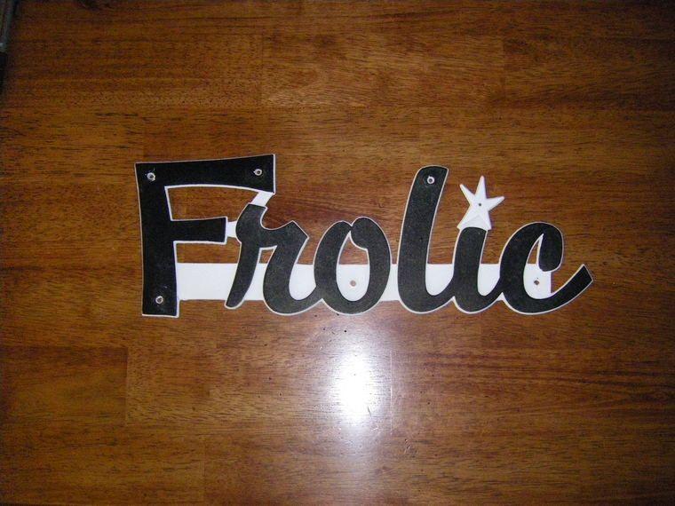 Frolic Emblem In Vintage Trailer Discussion Forum