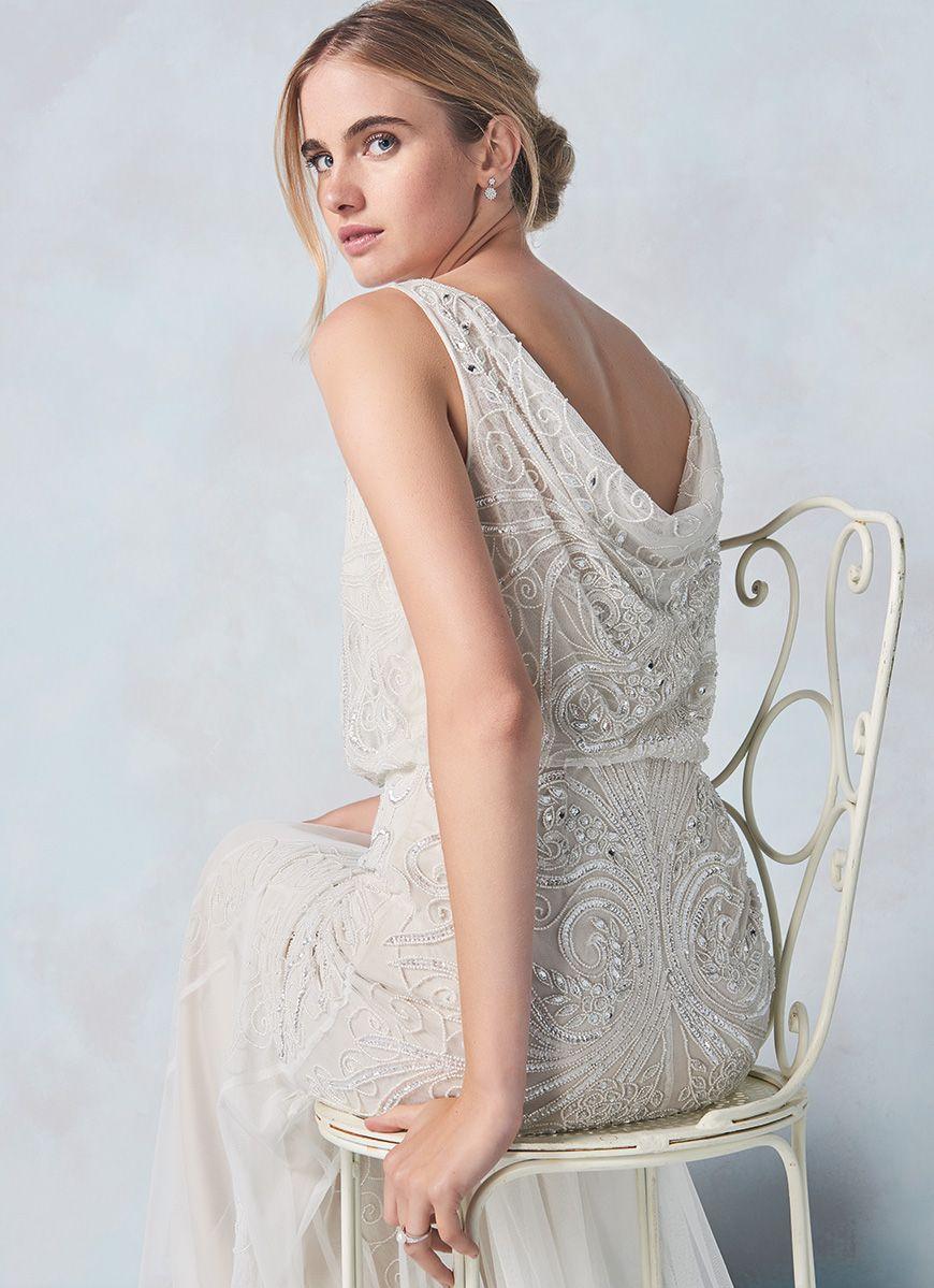 Phase Eight Introduce New Line Of Beautiful High Street Wedding Cathlyn Dress Chwv