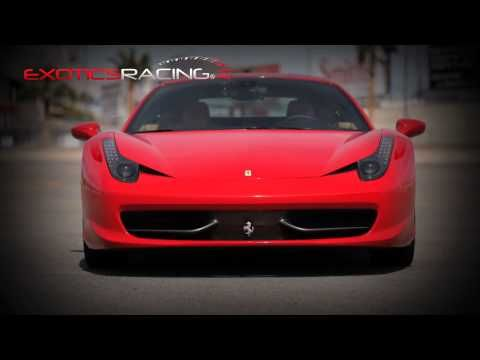 Exotics Racing In Las Vegas Drive Exotic Cars On A Race Track