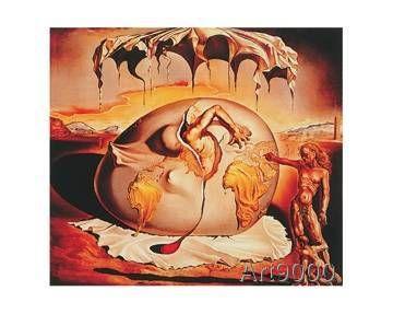 Salvador Dalí - Geopoliticus