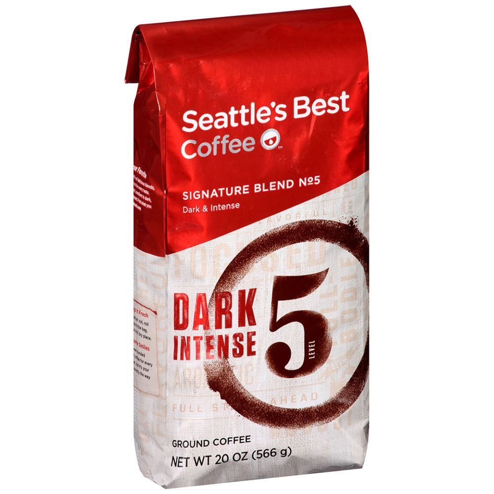Signature Coffee Drinks Recipes: Seattle's Best Coffee Signature Blend No 5 20 Oz 3-count