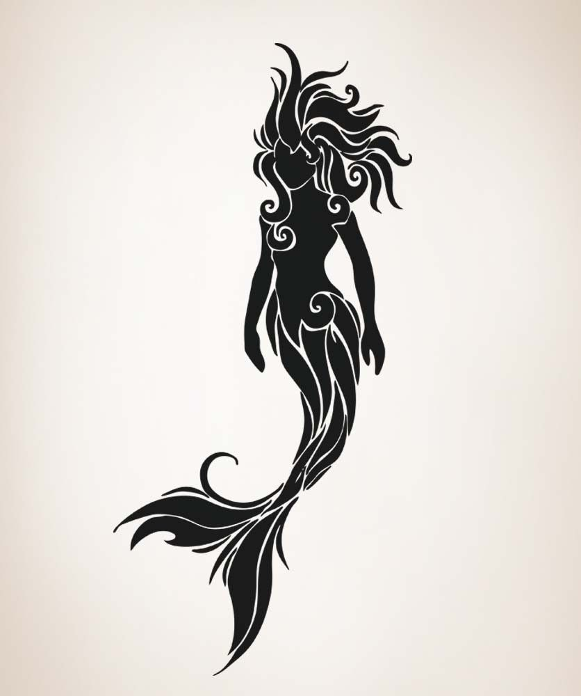 mermaid silhouette swimming mermaid silhouette os_aa1686_tribal_mermaid 1jpg