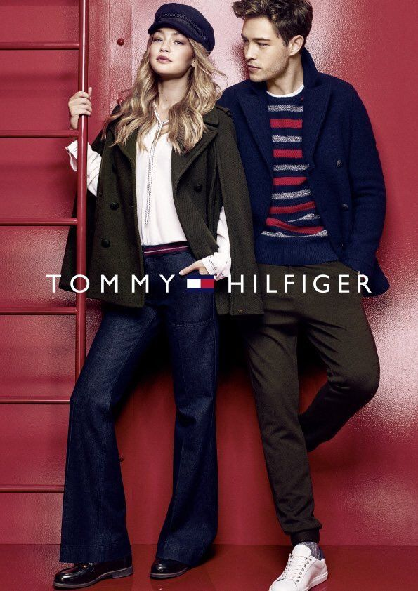 Gigi Hadid and Francisco Lachowski for Tommy Hilfiger  81e08a8d88c