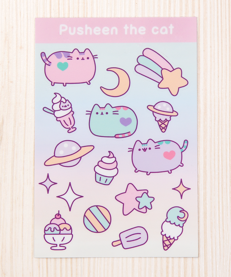 Cat Beautiful Pusheen Telegram Stickers