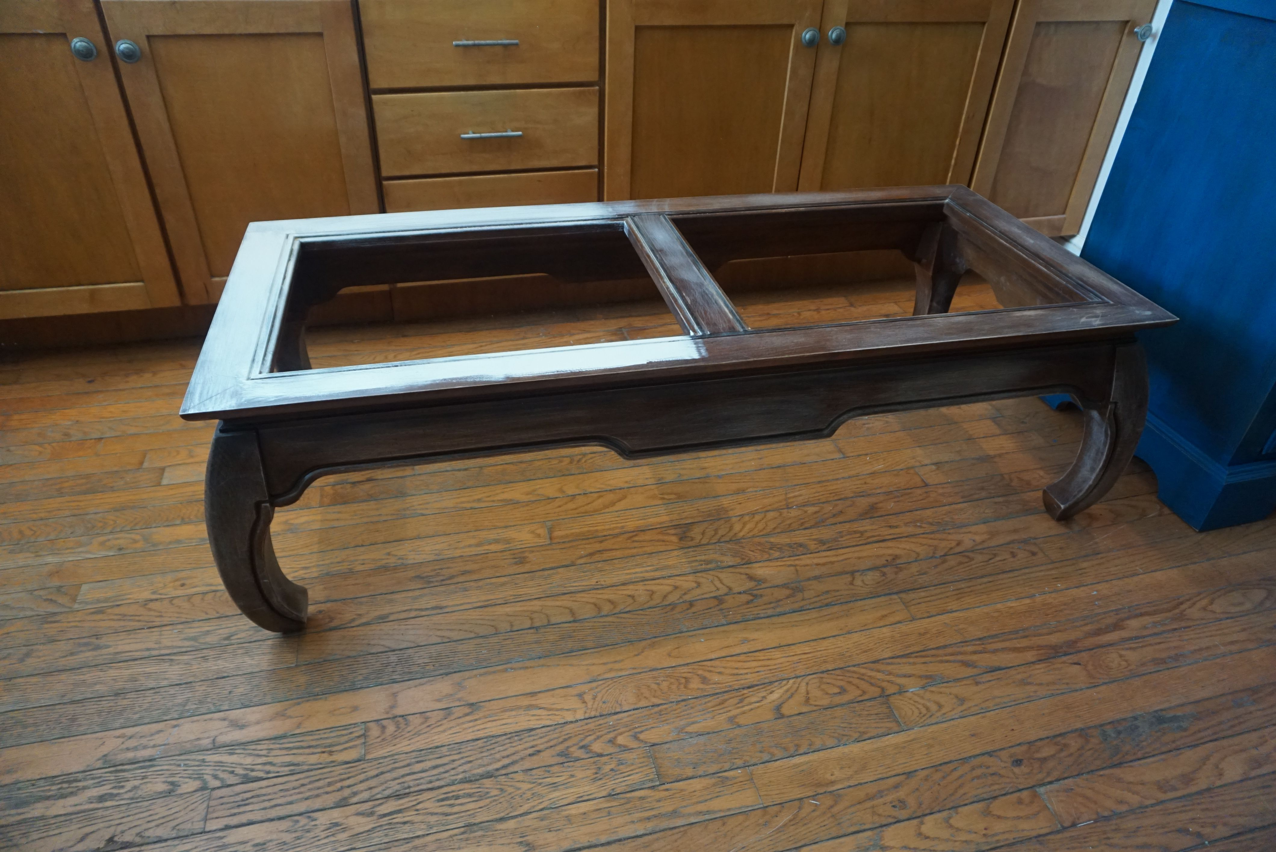 Asian Style Coffee Table Before Painted Coffee Table Chalk