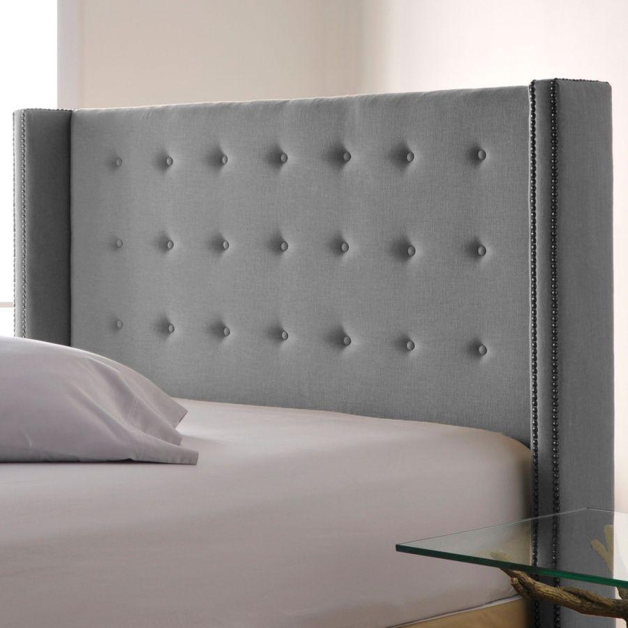 Very Hotel Like Tufted Upholstered Headboard Upholstered
