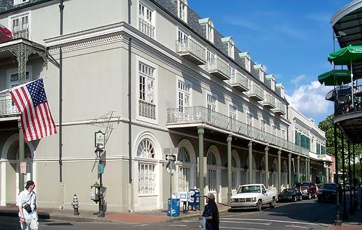 The Bourbon Orleans Hotel Great Balconies You Can See Shadow 717 Street New La 70116