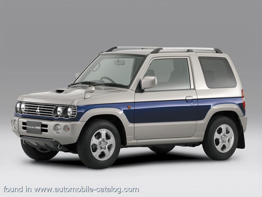 2001 Mitsubishi Pajero Mini. 660 cc JDM Kei Mitsubishi