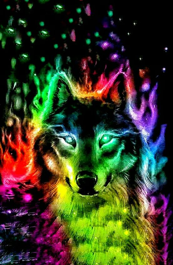 Awesome Wolf | Wolves in 2019 | Lobo desenho, Pinturas de ...