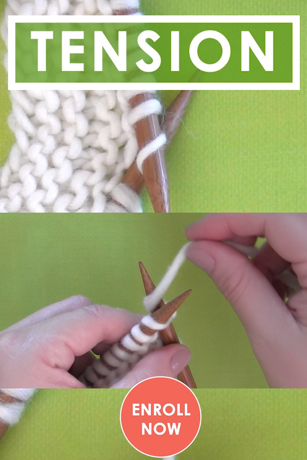 Photo of Knitting Tension Help for Absolute Beginning Knitters
