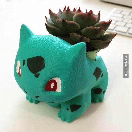 3D printed Bulbasaur