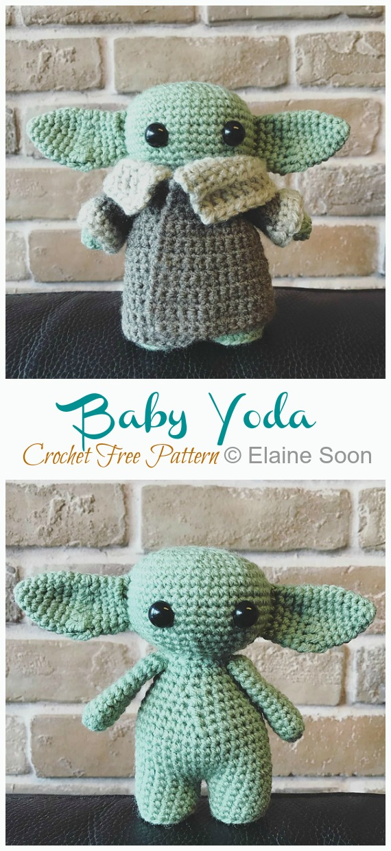 10 Amigurumi Yoda Crochet Patterns - Crochet & Knitting