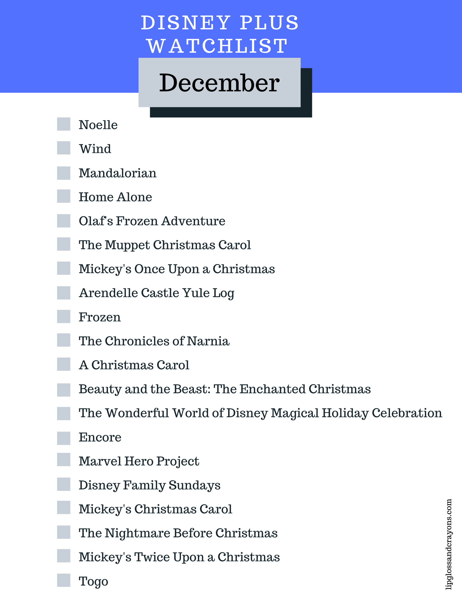 Disney Plus Watchlist December Lipgloss And Crayons In 2020 Disney Plus Movies To Watch Disney Movies List