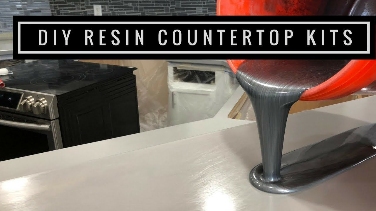 Countertop Resurfacing Kits With Metallic Epoxy In Silver