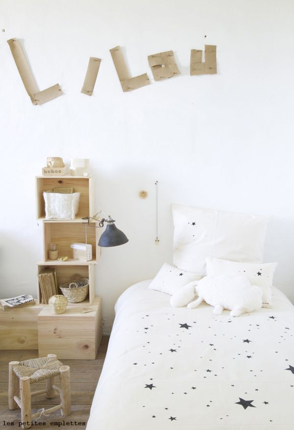 naturals linge de lit Un château bohème pour les petites emplettes | Kids rooms, Room  naturals linge de lit