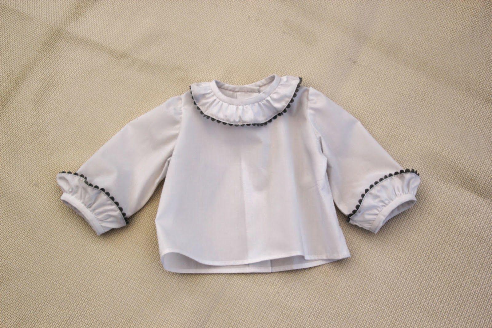 DIY Costura Blusa para Bebé (patrón gratis) | girl clothes ...