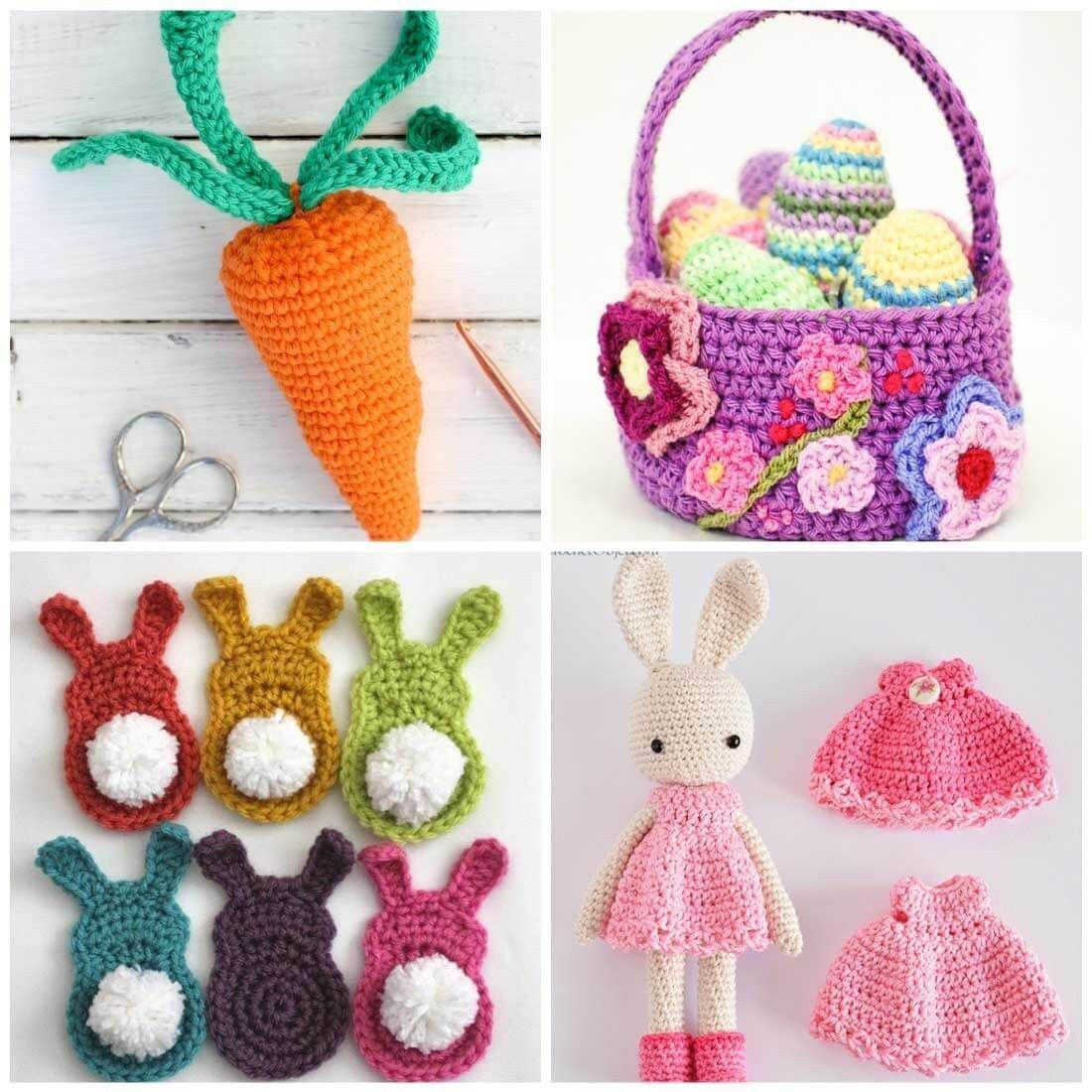 Easter Crochet Patterns 16 Free Crochet Patterns For Easter Easter Pinterest Easter #eastercrochetpatterns