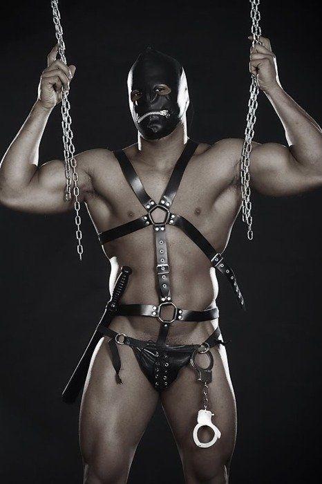 from Caleb gay dungeon rack chains