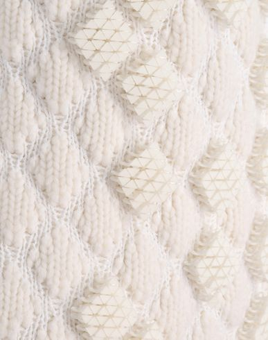 3D Embroidery - Knitwear Detail With Diamond Pattern U0026 Textured Embellishment // Pringle Of ...