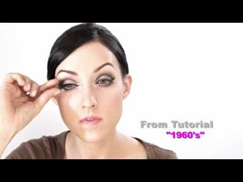 Vintage Makeup Tutorials Iconic Looks Of The 20s 50s 60s