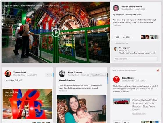 Google+ Launches New Look & Features