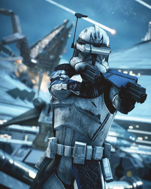 Captain Rex By Mandalorianbusiness Instagram Star Wars Images Star Wars Background Star Wars Pictures