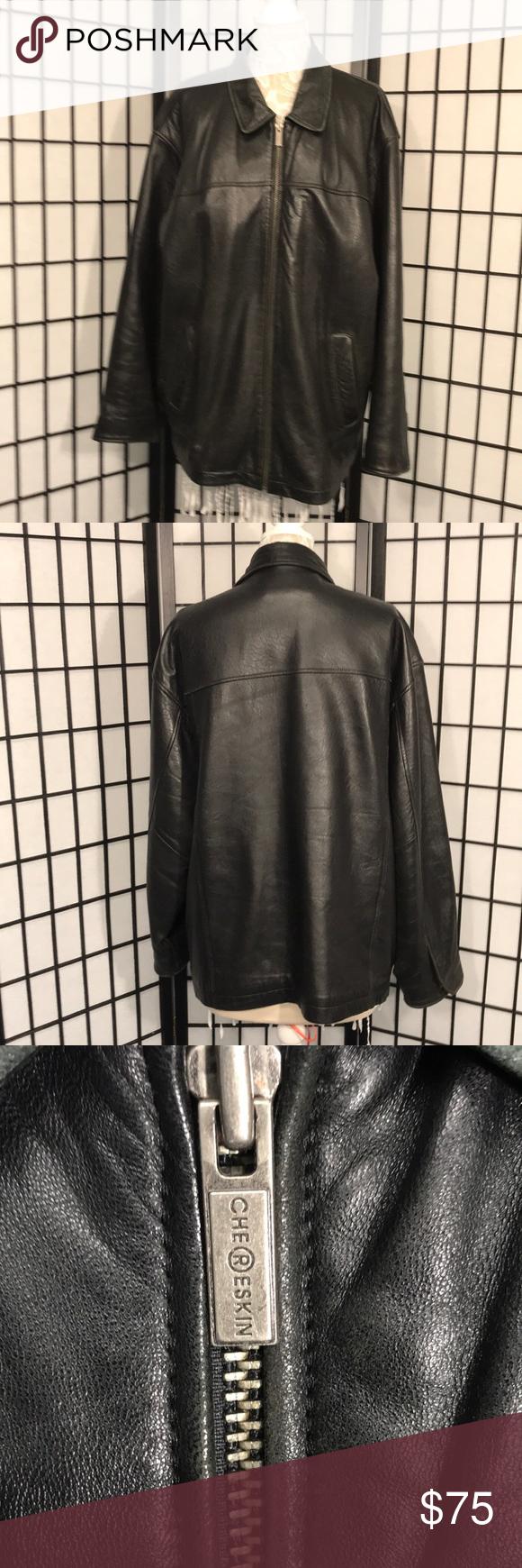 Chereskin Exterior Leather Coat Leather Coat Clothes Design Leather [ 1740 x 580 Pixel ]