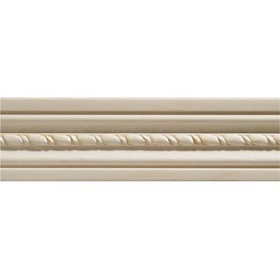 Ornamental Mouldings White Hardwood Embossed Rope Casing 1 2 X 2 1 8 Sold Per 7 Foot Piece Home Depot Canad Ornamental Mouldings Wood Case Window Molding