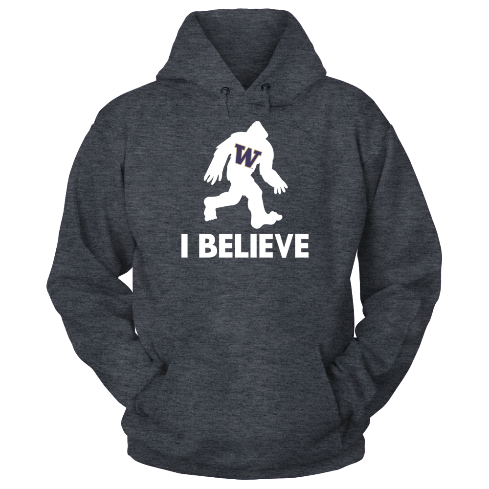 bd5230952c2 I Believe - Washington Huskies T-Shirt Washington Huskies Official Apparel  - this licensed gear