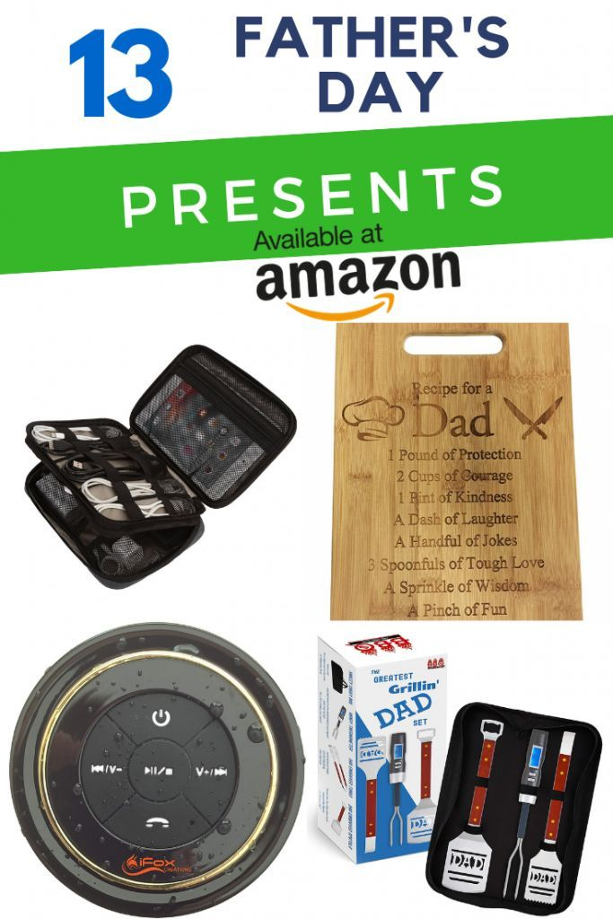 13 great gifts for Dad on Amazon! Shopping on Amazon is so easy which takes the stress out of ...
