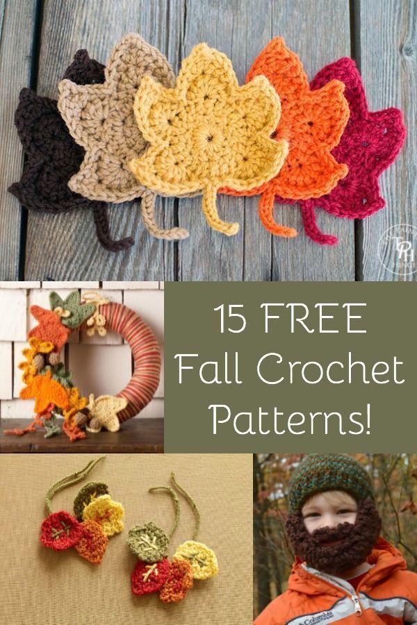 15 Of The Best Free Fall Crochet Patterns Crochet Pinterest
