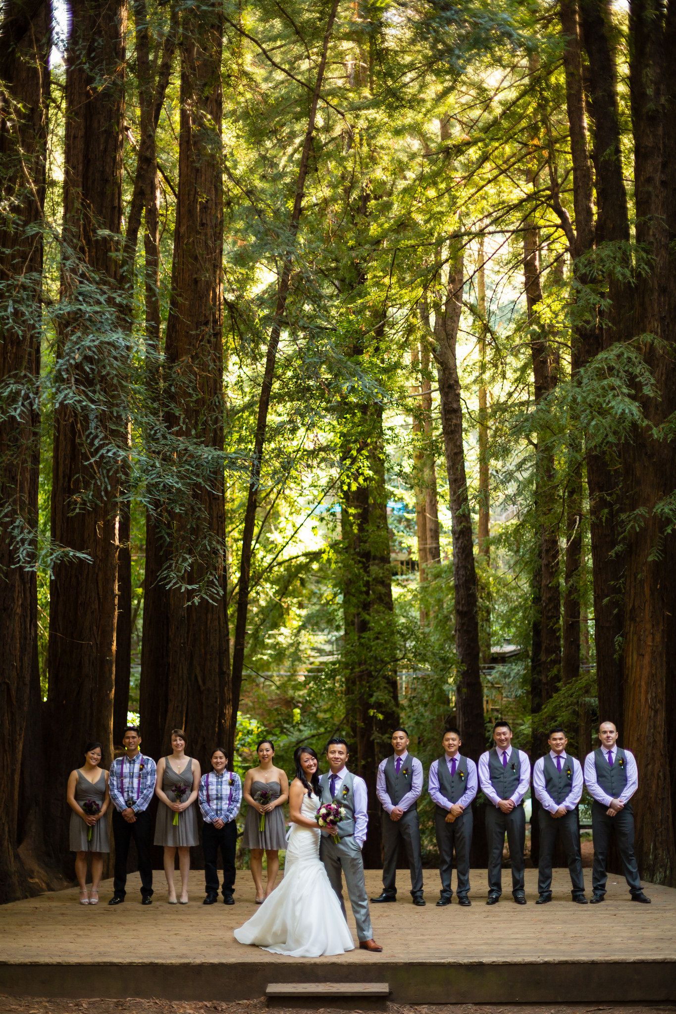beautiful wedding places in northern california%0A Laura  u     Ryan  Northern California Redwood Wedding  Mill Valley  California   Mill Valley