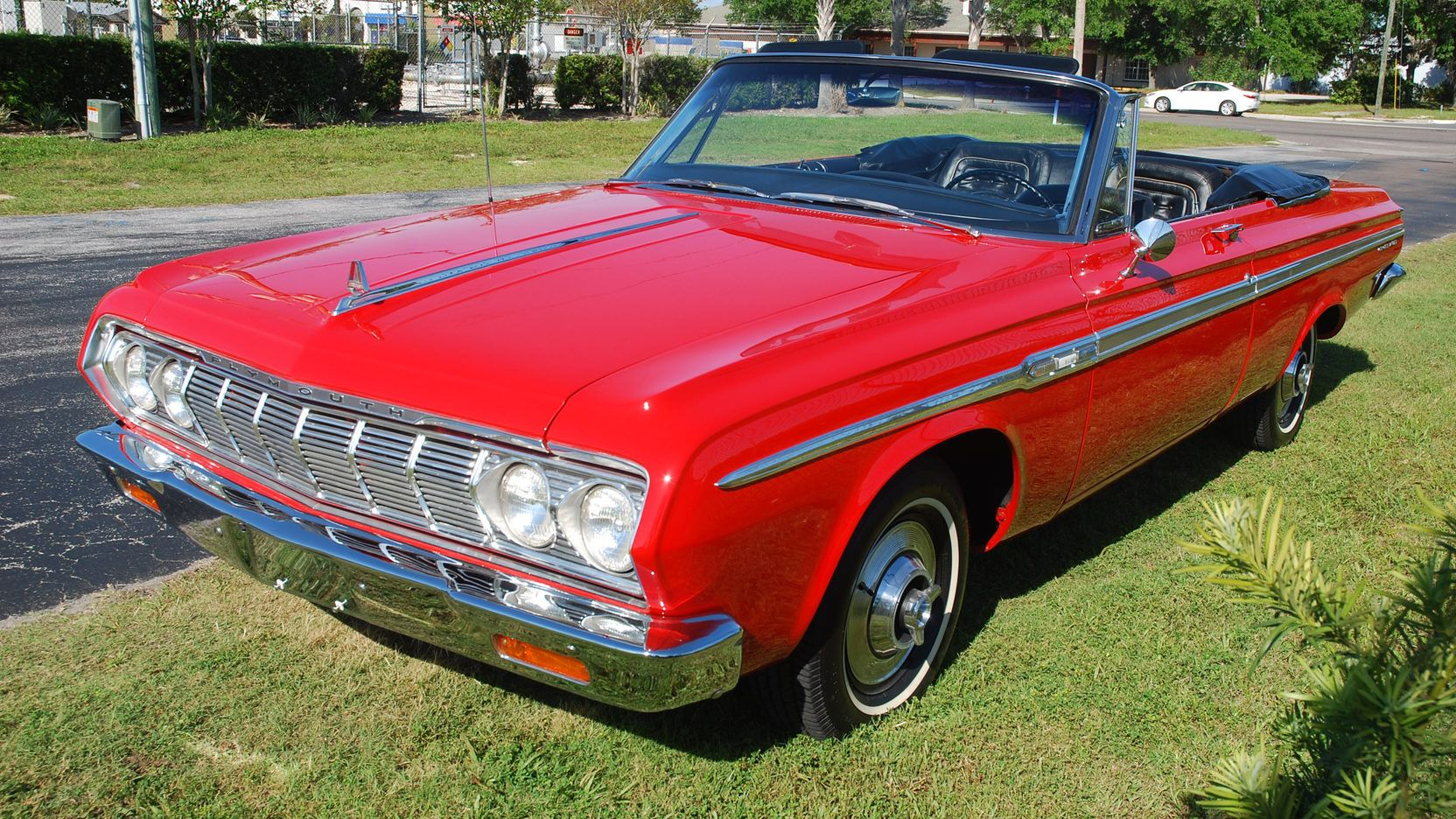 1964 Plymouth Sport Fury Convertible presented as Lot S58