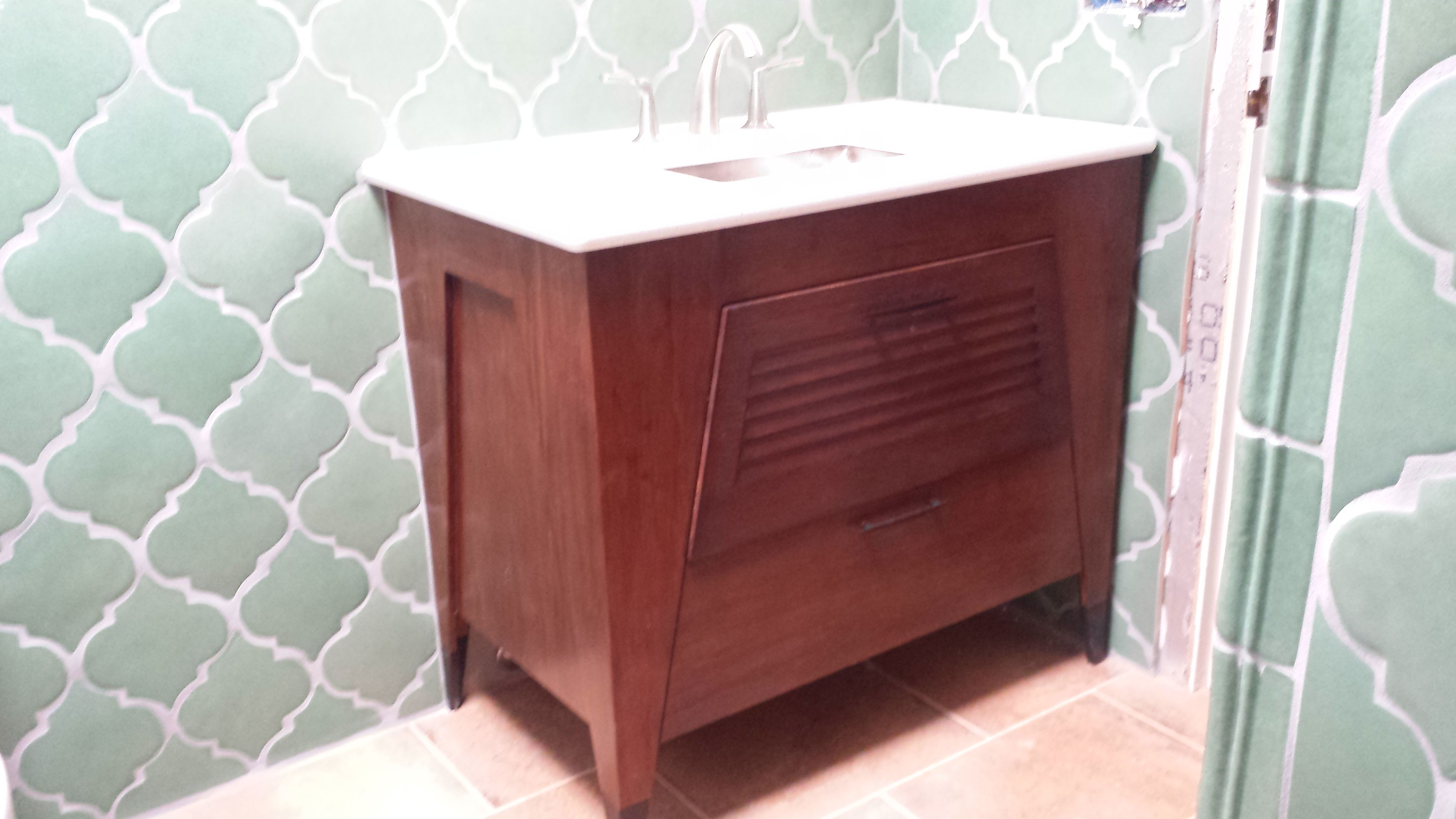 Native Trails bathroom vanity is MADE IN AMERICA of sustainable