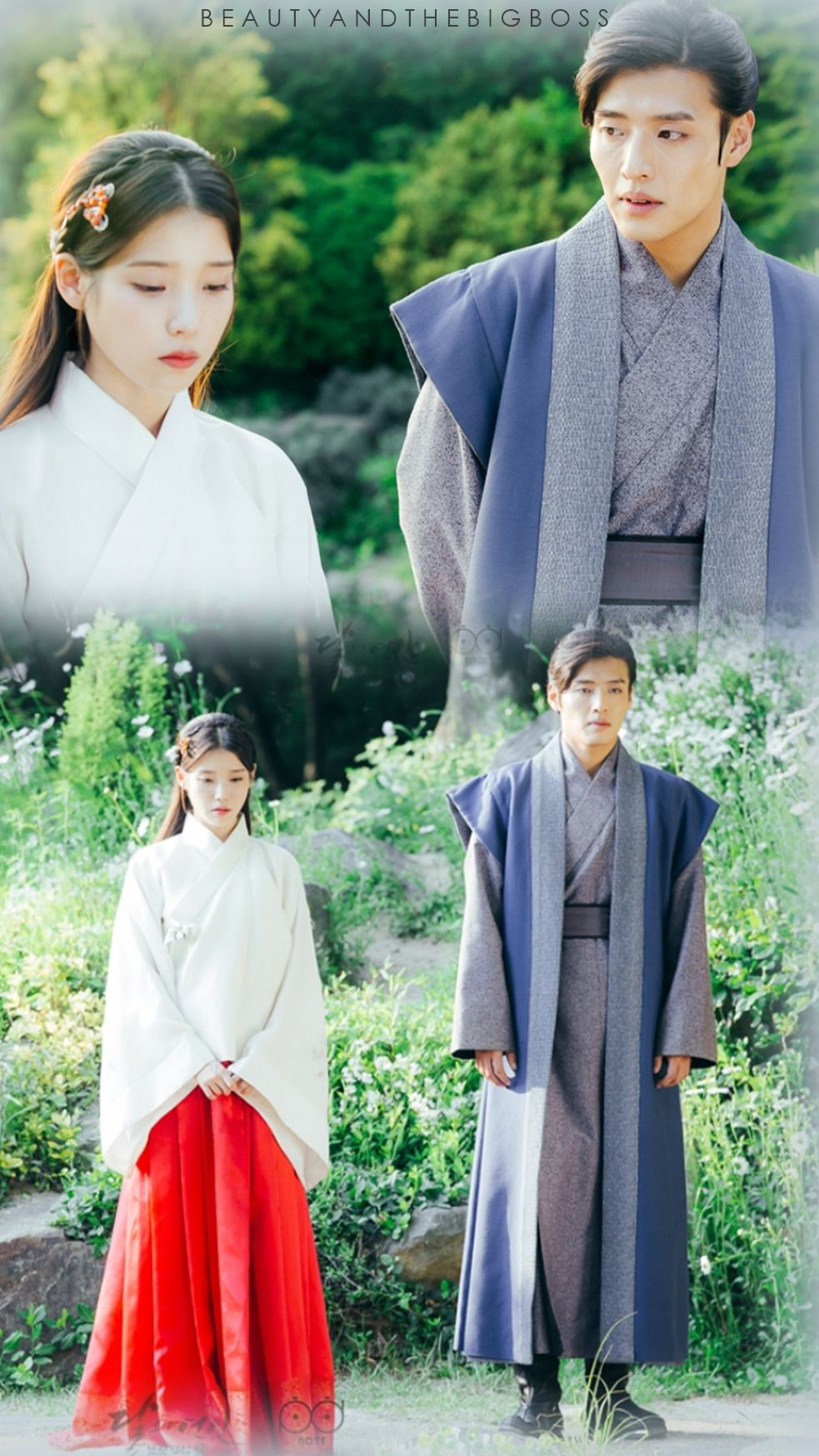 Scarlet heart ryeo-moon lovers IU/ kang ha neul / wallpapers