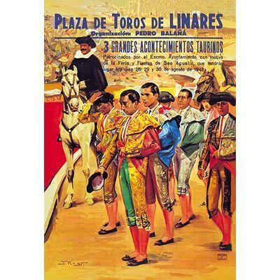 Buyenlarge Manolete Cartel de Primer Anniversario de su Muerte by Sofu Unknown Vintage Advertisement Size: