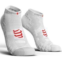 Reduced womens socks  stockings  Compressport Pro Racing Socks V30 Run Low Unisex clothing white CompressportCompressport