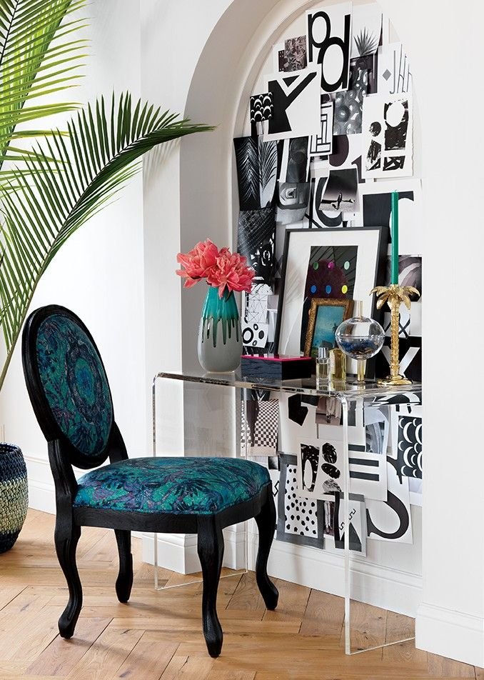 Matthew Williamson For | Jewel Tone Room, Condo Living And Inspiration Wall