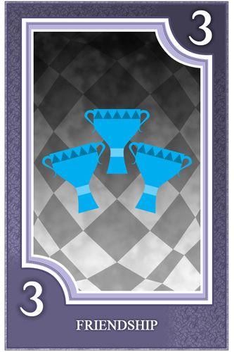 Three of Cups - Friendship