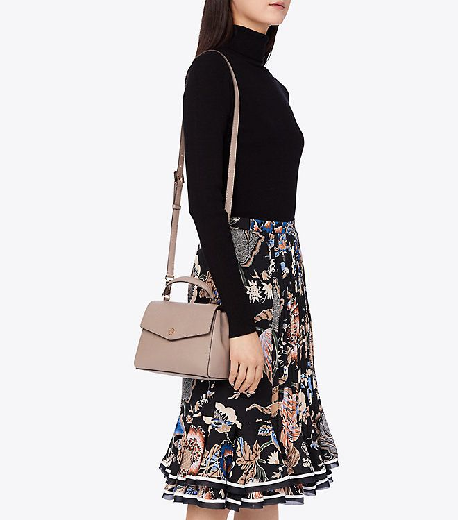 9cdadbe8d5 Robinson small top-handle satchel in 2019   To Buy List   Tory burch ...