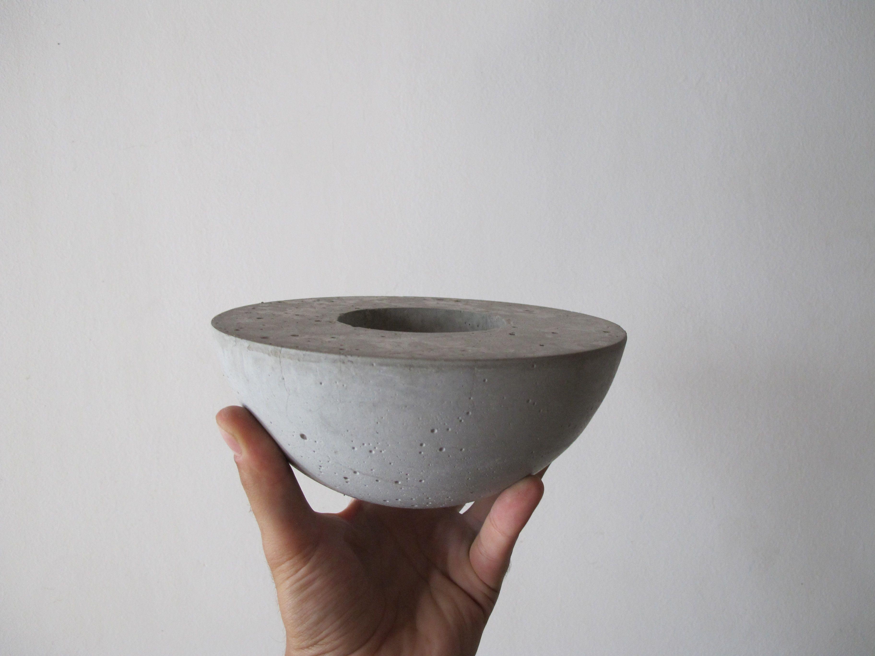Maceta de cemento dise o minimalista conocenos - Maceta de cemento ...
