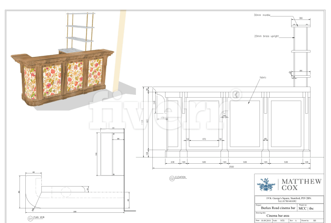 Draft Mill Work Furniture Woodworking Joinery To Cad Shop