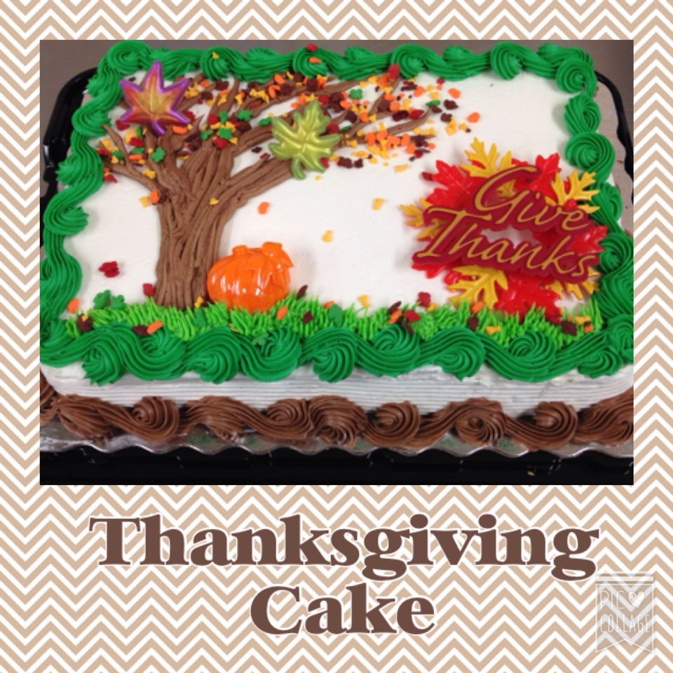 Thanksgiving Themed Sheet Cake Fall Cakes Holiday Cakes Halloween Cake Decorating
